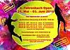 Flyer 2. Fahrenbach Open 2018